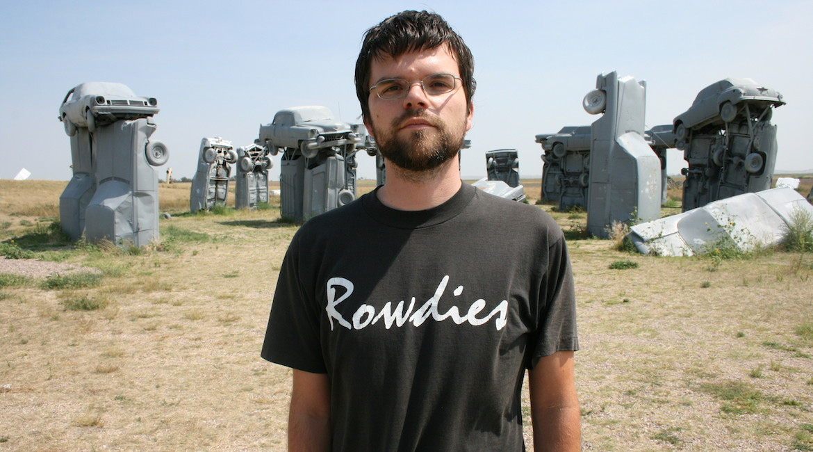 Nate Duke at CarHenge!